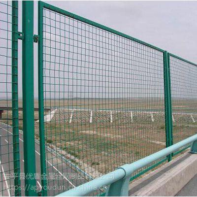 厂家生产公路桥梁防抛网 北京铁丝网护栏隔离网 桥梁防护网哪个牌子好