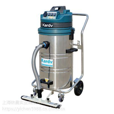 五金工厂打磨配套用工业吸尘器凯德威单相电强力大功率吸尘器