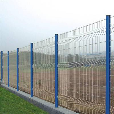 工地隔离栅厂家 刺绳护栏网 发电厂道路护栏网报价是优盾