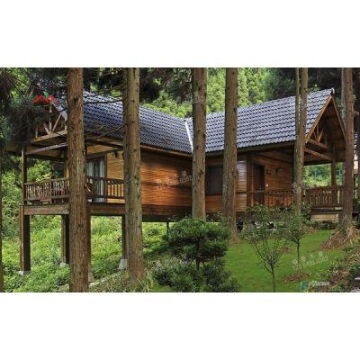 供应厂家直销现代森林氧吧度假木屋
