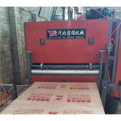 自动化包装箱阻燃胶合板印字印刷设备河北谊瑞机械