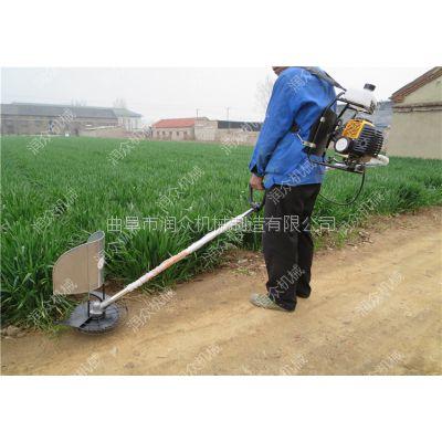 果园汽油割草机 轻便背负式打草机