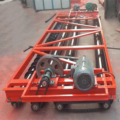 5米路面机械 6米三滚筒摊铺机 3轴混凝土路面摊铺整平机