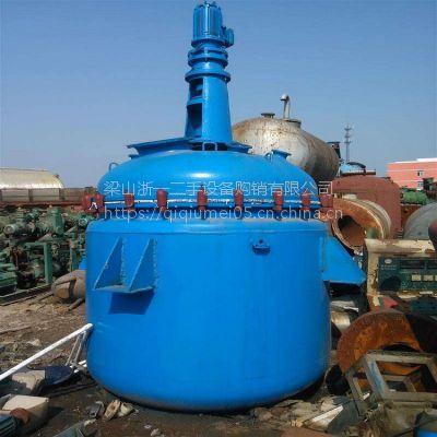 二手不锈钢反应釜 2000不锈钢反应釜 机械密封开式 电加热