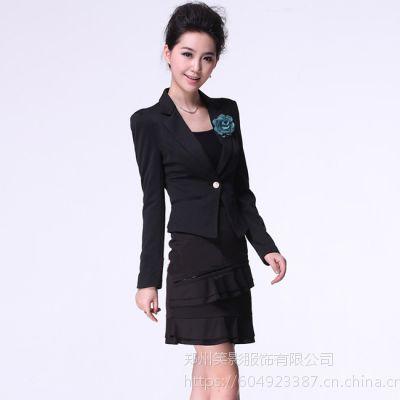 订做西服供应现货高温定型黑色西服,企业工装定做,私人定制