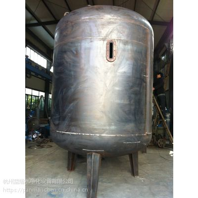 杭州厂家直销不锈钢离子交换器,圆柱体离子交换器