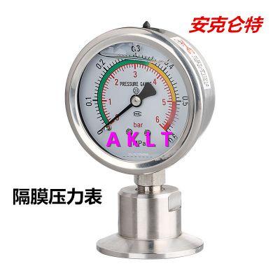 AKLT-YTP60卫生型隔膜压力表