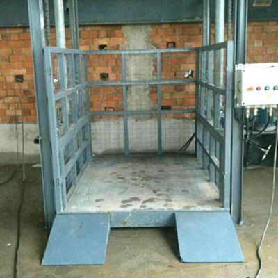厂家直销导轨式升降机 升高8米3吨液压货梯 电动升降平台