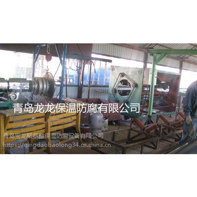 供应 夹克管挤出机 塑料挤出生产设备 PE管热力保温管设备