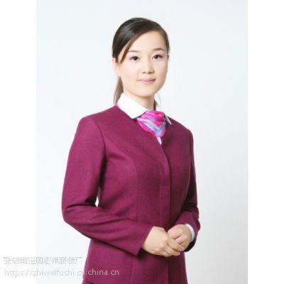 山东淄博临沂厂家订做导游工作服职业装