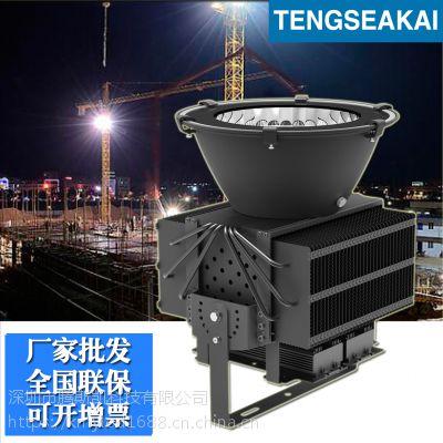 供应300W大功率超远距离投射灯 塔吊灯 高杆灯 防水LED投射灯 鳍片式