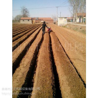 正立开沟培土机 农田菜园施肥松土机 农用家用除草机价格