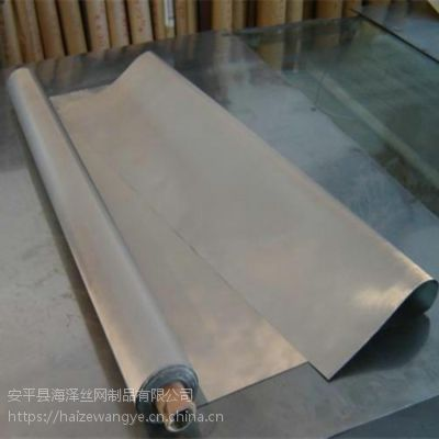 海泽供应304不锈钢平纹网 100目金属编织筛网 石油水过滤网