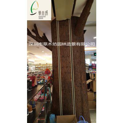 厂家直销草木坊牌杉树皮 树皮瓦 木屋凉亭屋面装饰精品尺寸约30-50X120cm
