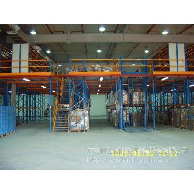 广东大型阁楼平台生产厂家,新三板上市有质保的货架厂家