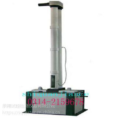 玻璃钢塑料保护管导管落锤冲击试验机单壁波纹护管冲击仪