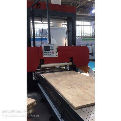 鑫长胜品牌直销XCS-800全自动开片豪华龙门卧式带锯床