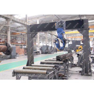 山东法因智能设备APM1412型数控型钢联合生产线