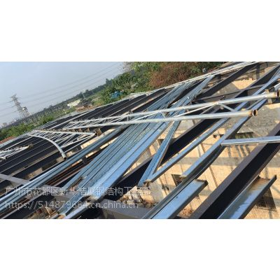 花都专业钢架拆除 铁棚清拆 钢结构防腐 厂房维修换瓦施工