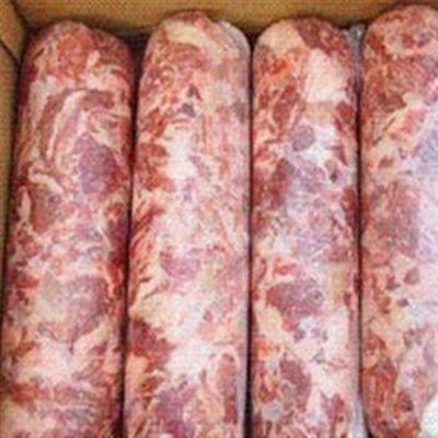 佳乐肉制品加工设备 商用肉卷成型机气动拉紧打卡机 大型肉卷切卷机