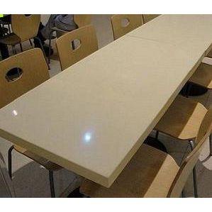 广东石英石餐桌收银台面