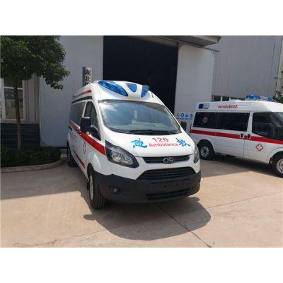 V362救护车轻量、低损、省油,竭尽所能,只为更好
