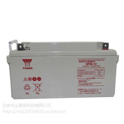 YUASA 汤浅蓄电池 100ah12v UPS专用· 原装正品 质保三年