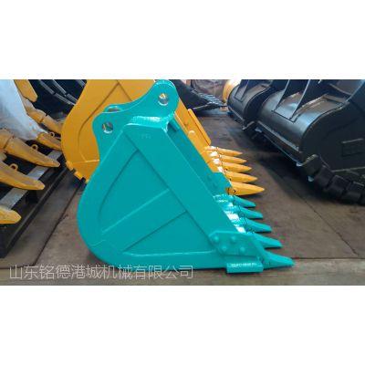 神钢SK250挖机土方斗 挖机岩石斗 钩机原装挖斗 山东厂家热销产品