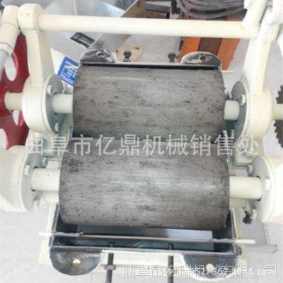 豆制品加工设备 电动小型豆扁机 宏瑞小型挤豆扁机多少钱一台