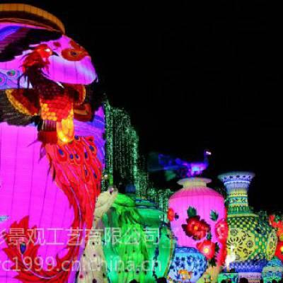 华亦彩 花灯定制公园灯展春节看花灯上门制作免费设计