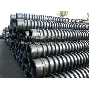 HDPE缠绕结构壁管DN400 克拉管