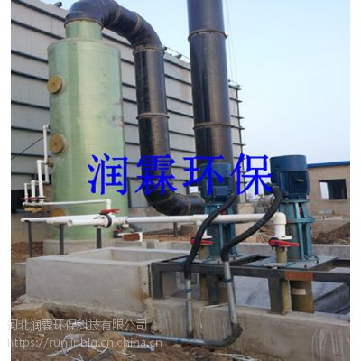 6T玻璃钢锅炉脱硫塔它适用于捕集细小 干燥 非纤维性粉尘-润霖