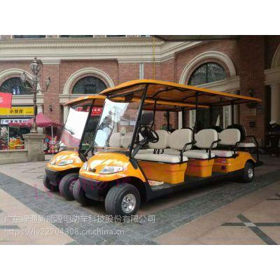 八人座电动高尔夫观光车绅雅系列--绿通品牌