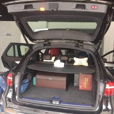 奔驰GLC电动尾门改装,远程遥控一键启动尾门