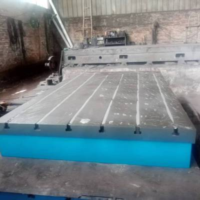 T型槽铸铁平台平板厂家直销高精度T型槽平台|规格型号齐全【鼎旭量具】