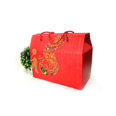 年货礼品盒定做 坚果礼盒定制 土鸡蛋包装盒定做 设计+印刷一站式