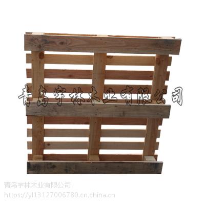 托盘熏蒸证明出口常用松木栈板 烟台厂家大量批发