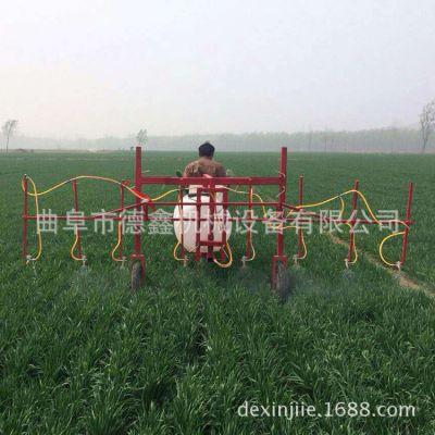 农用自走式带档位三轮车打药机 小麦玉米灭虫打药机 果园喷雾机
