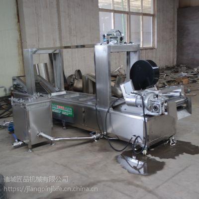 直销全自动式麻花,鸡排油炸机流水线 不锈钢材质,耐用环保,匠品制造