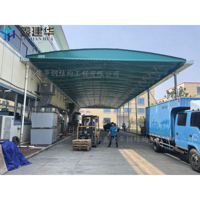 青岛市北区鑫建华固定雨棚布、大型活动篷布厂家直销