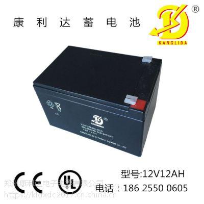 消防报警主机 消防设备专用12V12AH免维护铅酸蓄电池