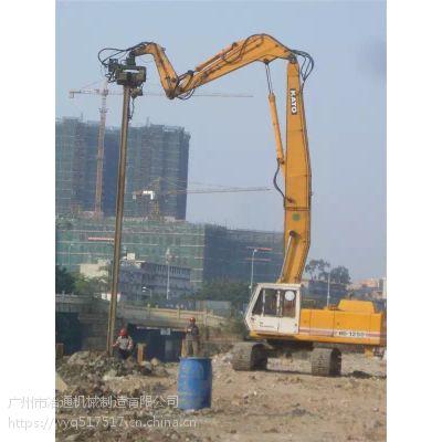 广州挖掘机打桩臂价格