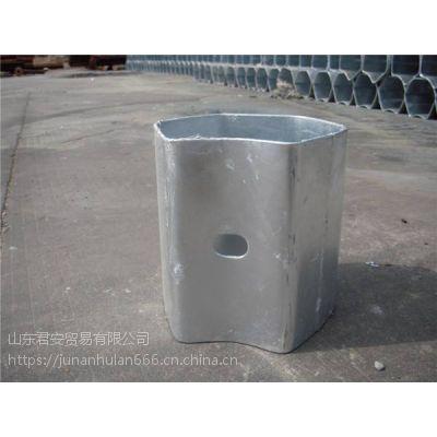 安徽合肥4.5厚波形护栏防阻块供应商_17753363199君安