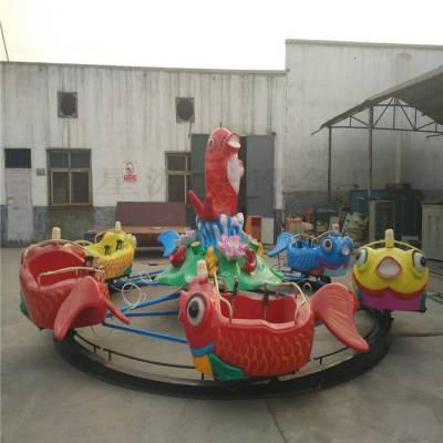 鲤鱼跳龙门小型水上陆地2用广场儿童游乐设备适合赶庙会使用
