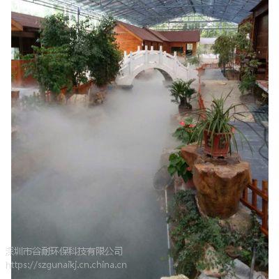 水池景观喷雾机 喷雾加湿除尘产品展示 案例(云浮|汕尾|潮州|台山|阳春|顺德)