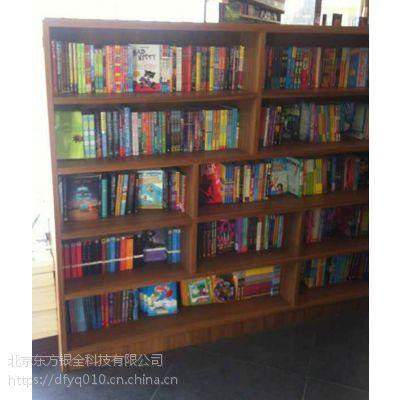 供应豪华书墙实木书架木制书架厂家直销
