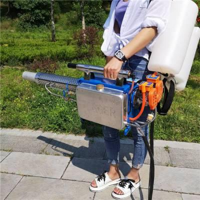 不锈钢体脉冲动力弥雾机 树林喷药杀虫弥雾机 一键启动水雾机