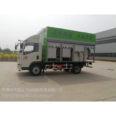 大锦鲤牌餐厨垃圾污水处理车-高效率,低能耗