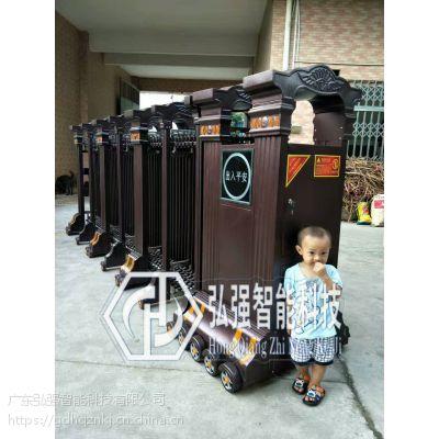 江城电动门,不锈钢伸缩门安装订做,厂家价格