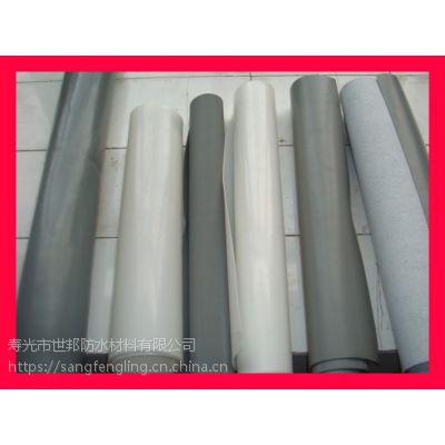 单面压花聚氯乙烯PVC防水卷材厂家大型设备生产
